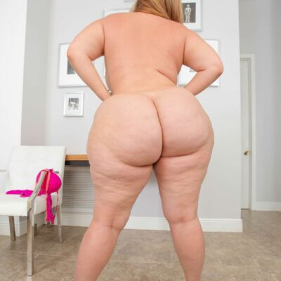 Big Ass White Girl Posing