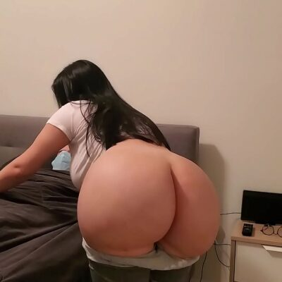 Big Ass Curvy Young Latina