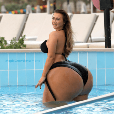 Giant Ass in the Pool
