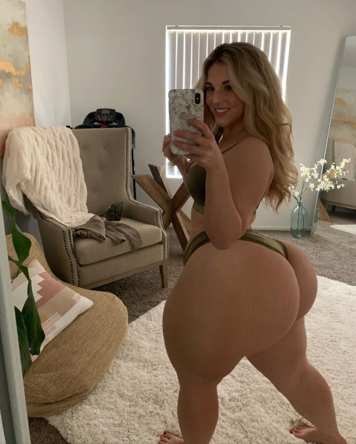 teen with massive ass selfie picture